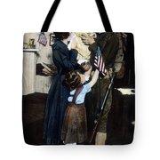 World War I: Deployment Tote Bag