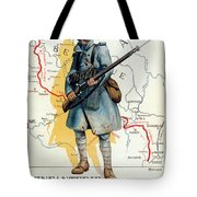 World War I: French Poster Tote Bag