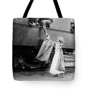 World War I: Red Cross Tote Bag