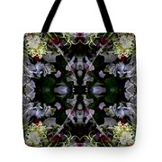 Worm Hole Mandala Tote Bag
