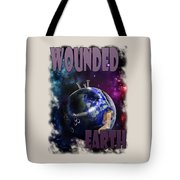 Wounded Earth Tote Bag