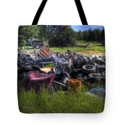 Wrecking Yard Study 9 Tote Bag