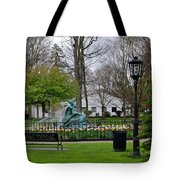 Wynken Blynken And Nod Tote Bag by Stephanie Calhoun