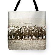 Wyoming: Cowboys, C1883 Tote Bag
