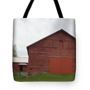 Ye Old Red Barn Tote Bag