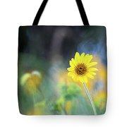 Yellow Arrowleaf Balsamroot  Tote Bag