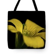 Yellow Clover Tote Bag