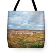 Yellow Mounds Of Badlands Np Tote Bag
