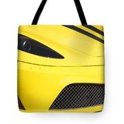 Yellow Stradale Tote Bag