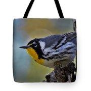Yellow Throat Warbler Tote Bag