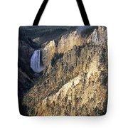 Yellowstone Falls Tote Bag