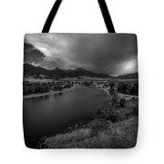 Yellowstone River Camp Tote Bag