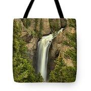 Yellowstone Tower Falls 2018 Tote Bag