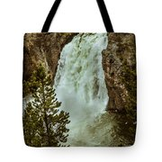 Yellowstone Upper Falls Tote Bag