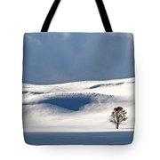 Yellowstone Winter Tote Bag