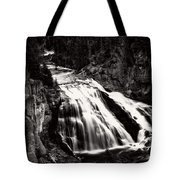Yellowstone's Gibbon Falls Tote Bag
