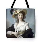 Yolande-martine-gabrielle De Polastron Duchesse De Polignac Lisabeth Louise Vige Le Brun Tote Bag