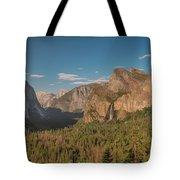 Yosemite Valley View Tote Bag
