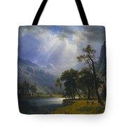 Yosemite_valley Tote Bag