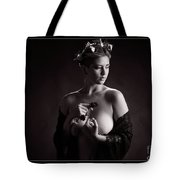 Young Woman Nude 1729.555 Tote Bag