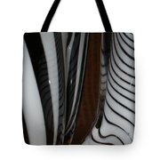 Zebra Glass Tote Bag