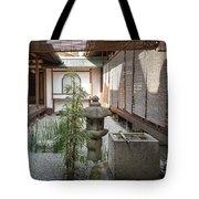 Zen Garden, Kyoto Japan Tote Bag