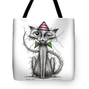 Zippy Cat Tote Bag