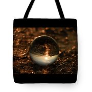 10-17-16--8585 The Moon, Don't Drop The Crystal Ball, Crystal Ball Photography Tote Bag