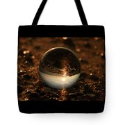 10-17-16--8590 The Moon, Don't Drop The Crystal Ball, Crystal Ball Photography Tote Bag
