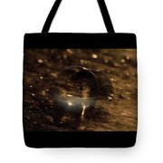 10-17-16--8634 The Moon, Don't Drop The Crystal Ball, Crystal Ball Photography Tote Bag