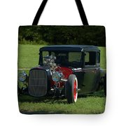 1930 Ford Coupe Hot Rod Tote Bag