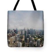 Chicago Skyline Aerial Photo Tote Bag