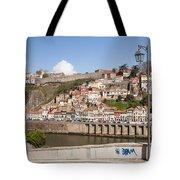 City Of Porto In Portugal Tote Bag