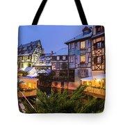 Colmar,petite Venice, Alsace, France, Tote Bag