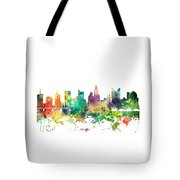 Columbus Ohio Skyline Tote Bag