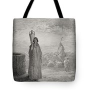 Engraving From The Dore Bible Tote Bag
