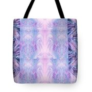 Floral Abstract Design-special Silk Fabric Tote Bag