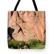 Garden Of The Gods Ten Mile Run In Colorado Springs Tote Bag