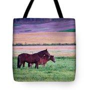 Horses Of The Fall Tote Bag