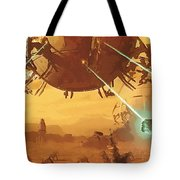 Imperial Star Wars Poster Tote Bag