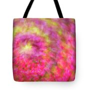 Impression Series - Floral Galaxies Tote Bag by Ranjay Mitra