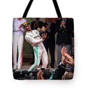 Lewis Hamilton Tote Bag