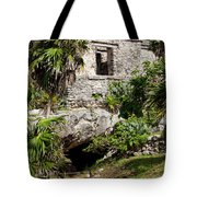 Mayan Temples At Tulum, Mexico Tote Bag
