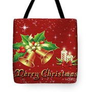 Christmas Card 9 Tote Bag