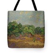Olive Trees Tote Bag