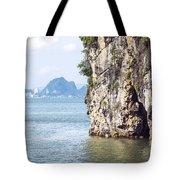 Picturesque Sea Landscape. Ha Long Bay, Vietnam Tote Bag