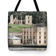 Port Arthur Building In Tasmania, Australia. Tote Bag