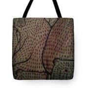 Print And Pixel Tote Bag