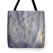 10. Speckled Blue And Yellow Glaze Painting Tote Bag
