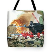 Star Wars At Poster Tote Bag